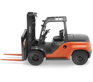 New and Used Forklifts in Akron, Canton & East Sparta, OH
