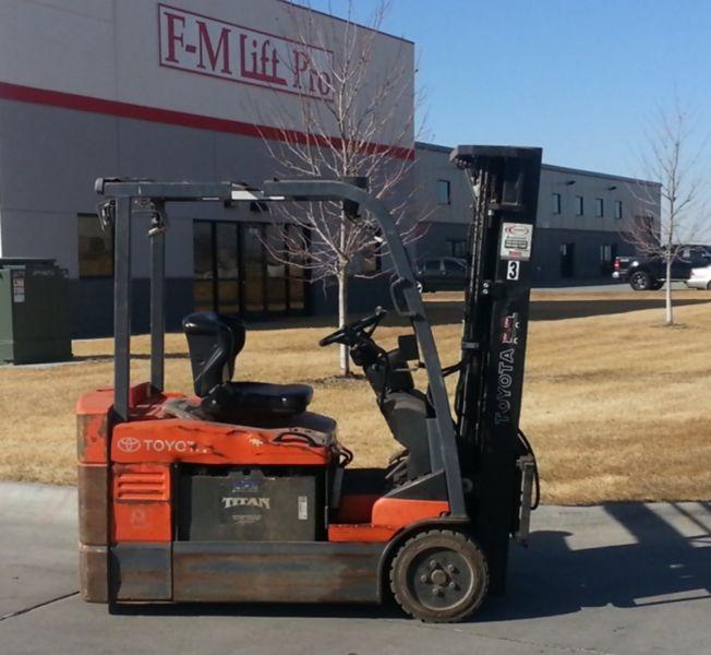Used Forklifts For Sale in Omaha, Bismarck, Billings, Fargo
