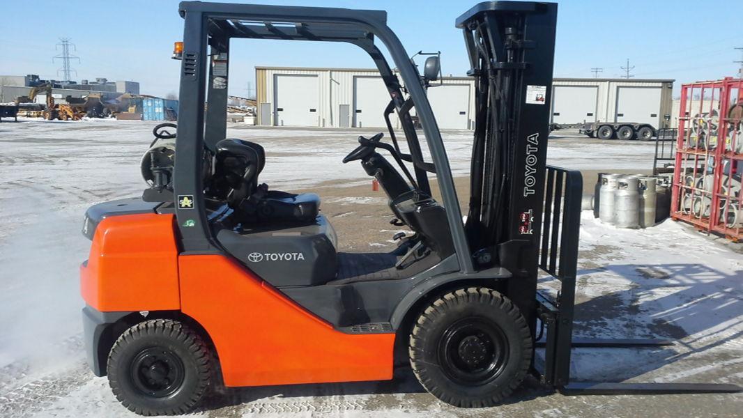 Used Toyota 8fgu25 F M Forklift Sales Amp Service Inc