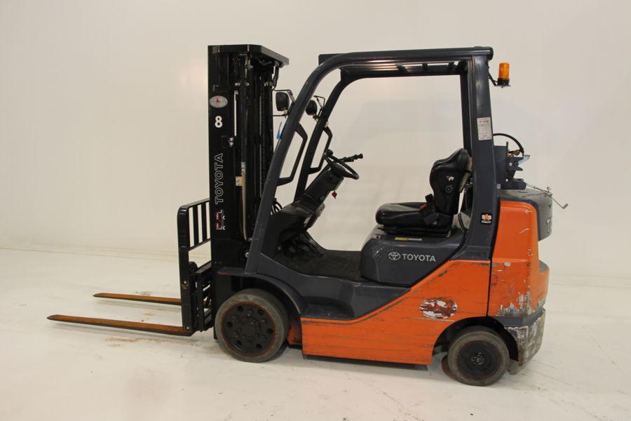 Hydraulic Lift Cushion : Work ready lb cushion tire lift toyota forklifts of