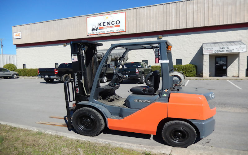 Toyota Forklifts, Utility Vehicles and Aerial Lifts in Chattanooga