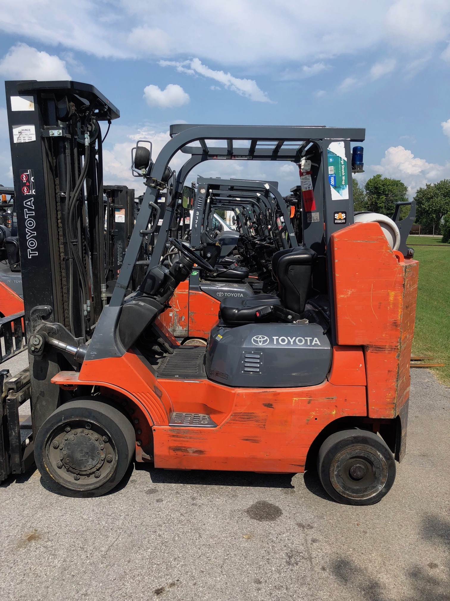 Used Forklifts in Chattanooga and Huntsville | Kenco Toyota-Lift