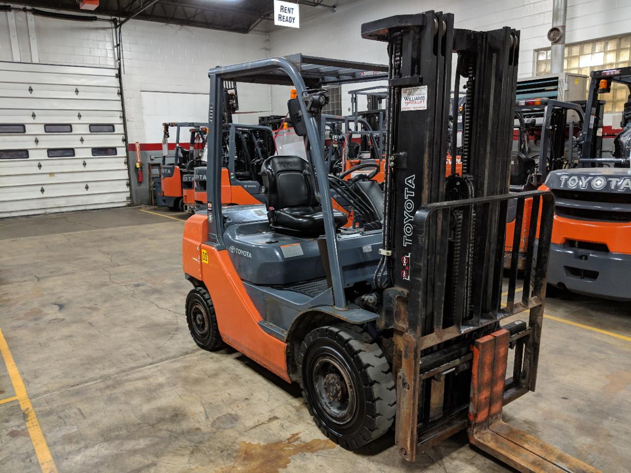 5000 lbs Capacity Pneumatic Diesel - Williams Toyota Lift, Inc
