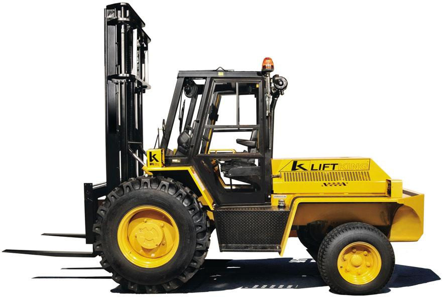 Liftking Rough Terrain Forklifts Heavy Duty Forklifts